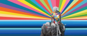 Einstein by Kobra, photo by Adrian Wilcox Photography